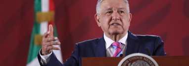 El presidente de México, Andrés Manuel López Obrador, rechazó este miércoles presiones en el tema migratorio. (Foto Prensa Libre: EFE)