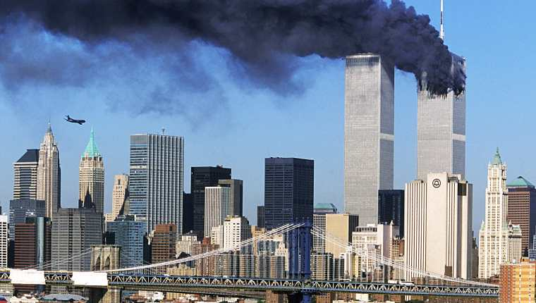 Este 11 de septiembre del 2021, se cumplen 20 años del atentado a las Torres Gemelas. (Foto Prensa Libre: Hemeroteca PL).