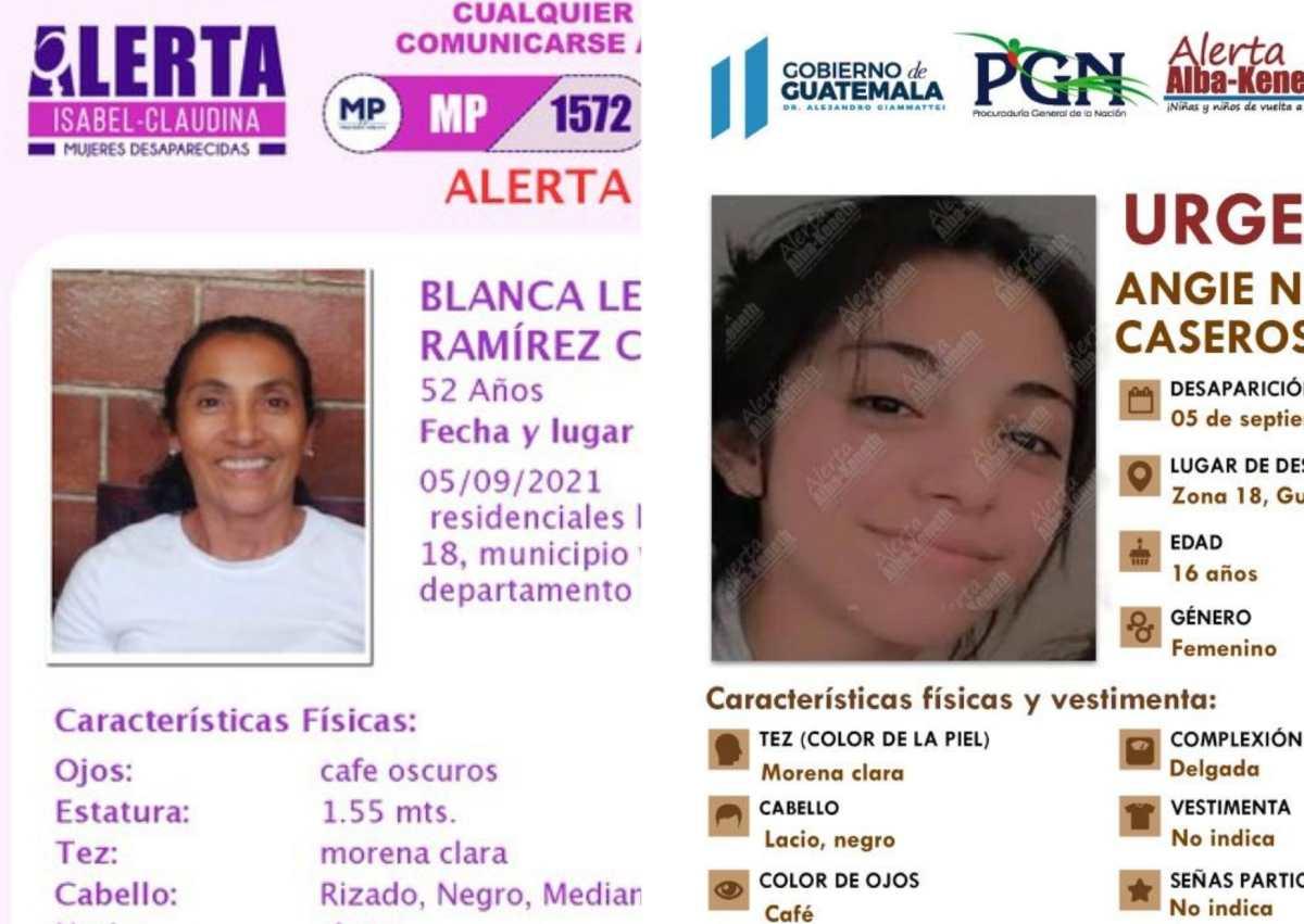 Trascienden detalles del día que desaparecieron Blanca Ramírez y su hija Angie Nicole