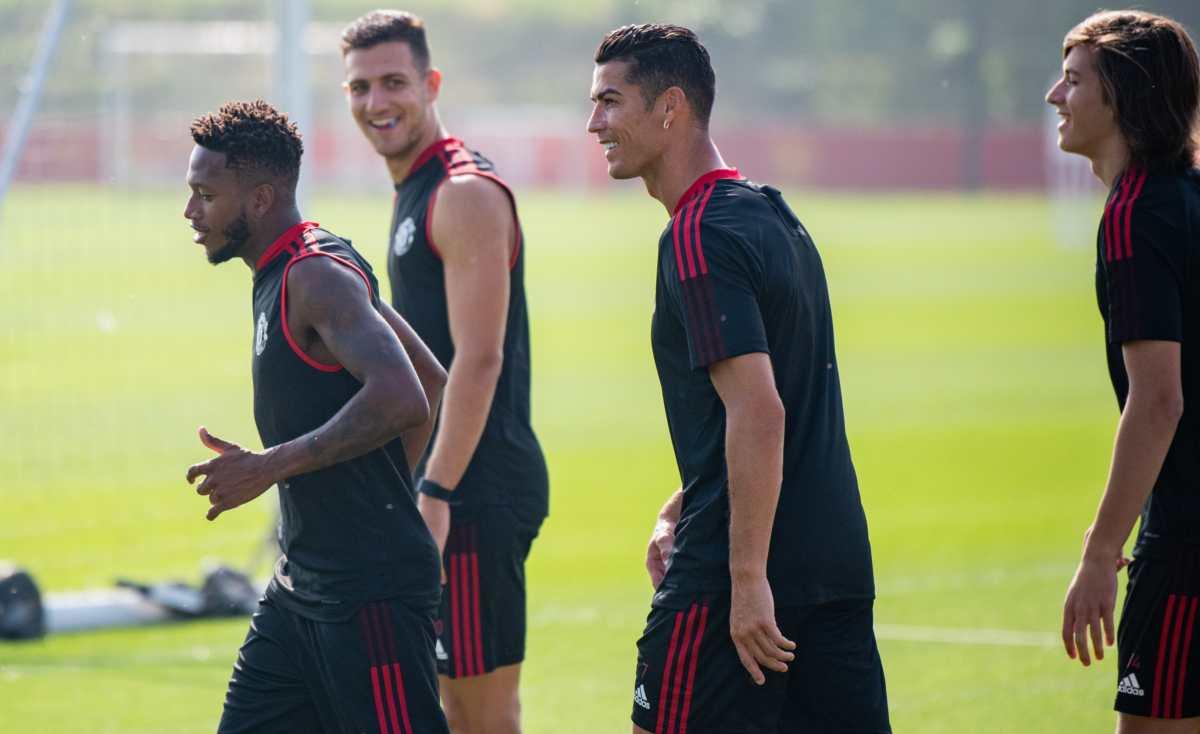 Cristiano Ronaldo se entrena por primera vez con el Manchester United y su debut podría ser este 11 de septiembre