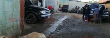 El ataque directo ocurrió en la aldea Ciénega Grande, Chimaltenango. (Foto Prensa Libre: Notiweb Occidente)