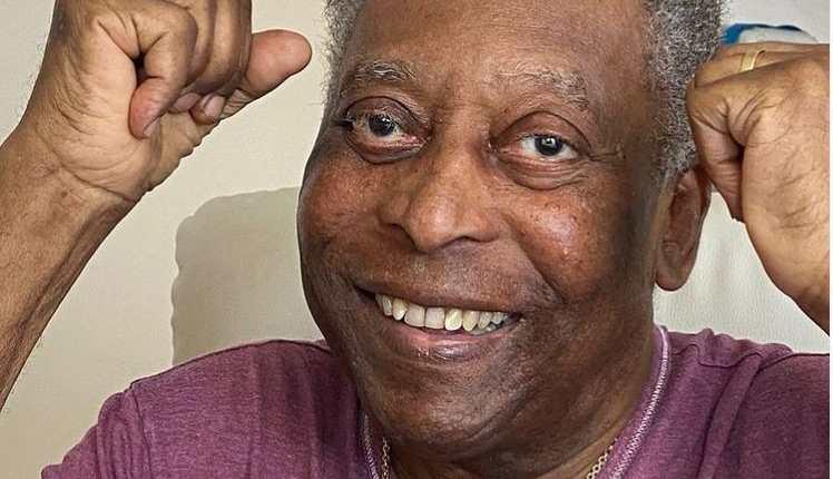 """Pelé, de 80 años, presenta """"buena evolución clínica"""" y """"permanecerá, a partir de ahora, en recuperación en la habitación. (Foto Redes)."""