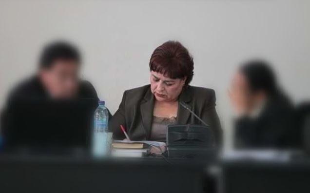 La CSJ resolvió mantener la inmunidad a la jueza María Eugenia Castellanos. (Foto Prensa Libre: Hemeroteca PL)