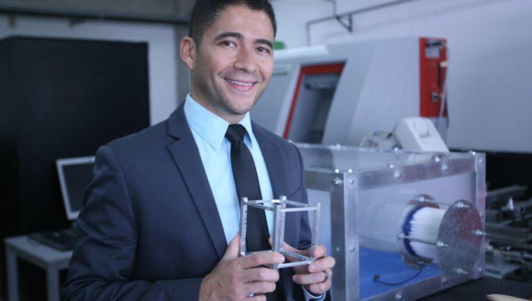 Luis Zea, el guatemalteco elegido por la NASA