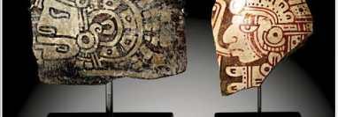 Trece piezas mayas de Guatemala son subastadas en Alemania por la casa de subastas Gerhard Hirsch Nachfolger.  (Foto Prensa Libre: Tomada de Gerhard Hirsch Nachfolger)