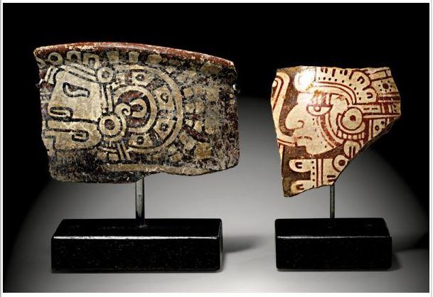 Los precios base de hasta €2 mil de las piezas mayas en subasta en Alemania y por las que Guatemala y otros países reclaman