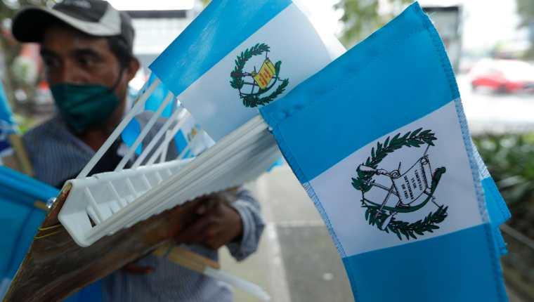 Las actividades por la Independencia de Guatemala serán virtuales este 2021. (Foto Prensa Libre: Esbin García)