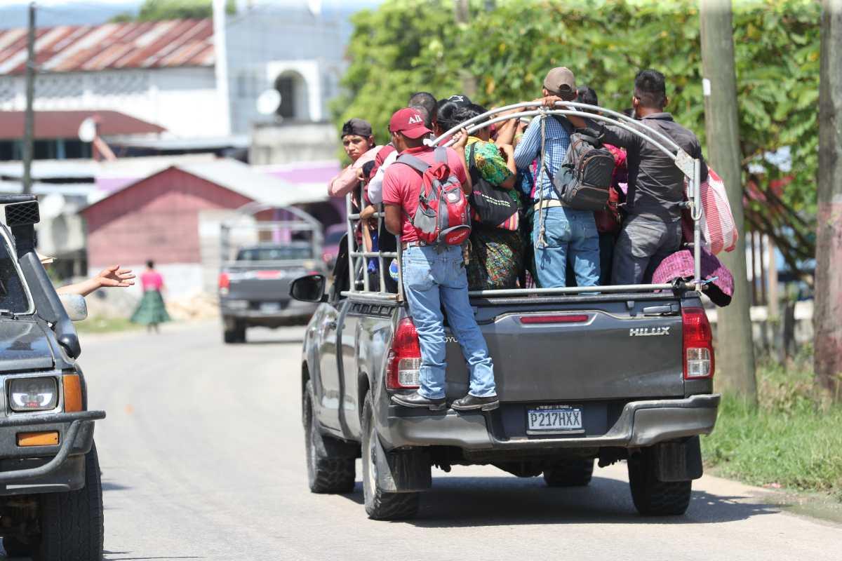 Alta Verapaz es el departamento con más rezago en la vacunación contra el covid-19. (Foto Prensa Libre: Erick Ávila)