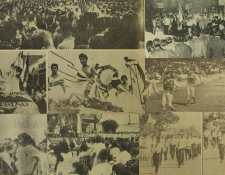 Los desfiles patrióticos de septiembre se popularizaron en el siglo XX para enaltecer el sentido de pertenencia de los guatemaltecos. (Foto Prensa Libre: Hemeroteca PL)