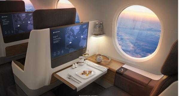 Cómo es el avión que volará a cualquier lugar del mundo en 4 horas y por US$100