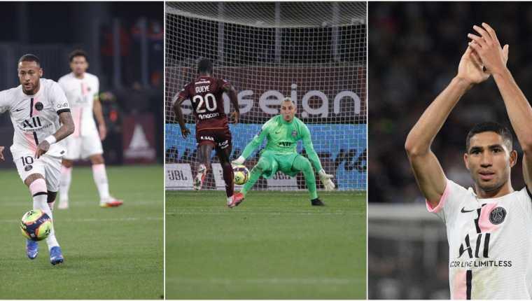 El Paris Saint-Germain sufrió ante el colero Metz FC, y las individualidades volvieron a ser vitales para lograr los tres puntos. Fotos @PSG_espanol