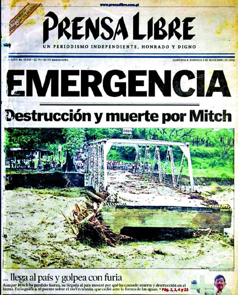 Mitch en Guatemala