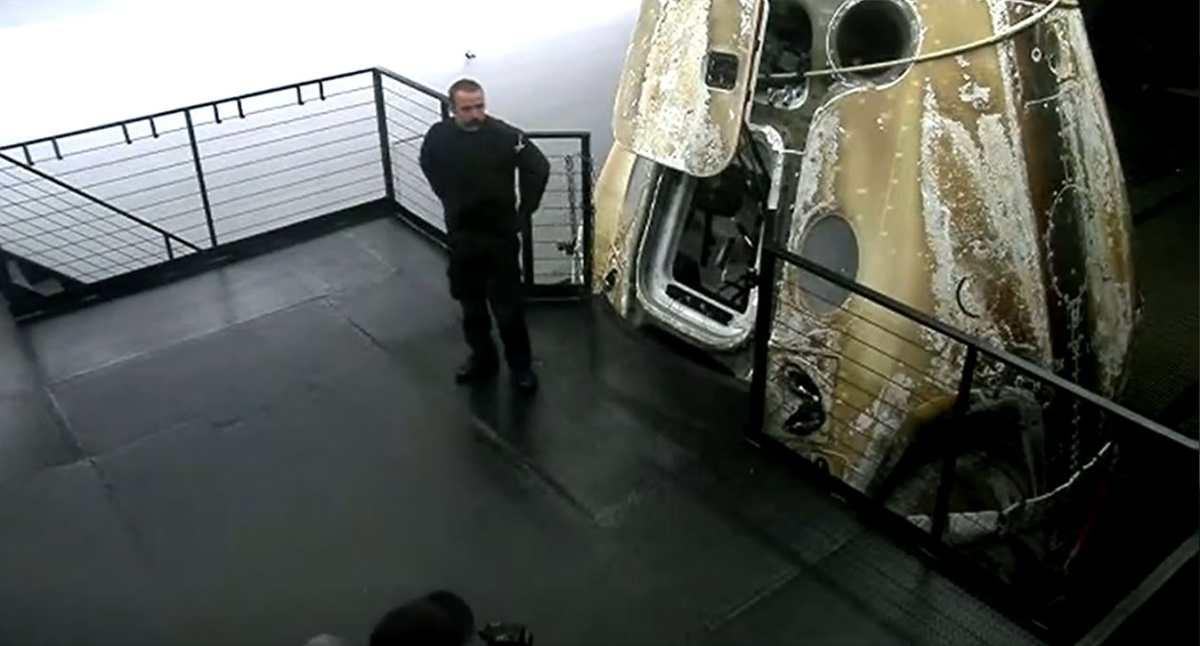 SpaceX:  La primera misión orbital totalmente civil regresa a la Tierra después de tres días en el espacio