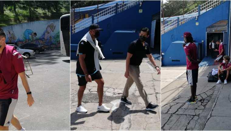 El Saprissa, que dirige Mauricio Wright, llegó este miércoles 22 de septiembre a Guatemala para disputar el juego ante Santa Lucia.  Mauricio Wright dirigió al Malacateco en 2012 y 2017. Foto Prensa Libre: Cortesía.