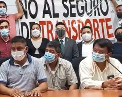 Transportistas piden derogar acuerdo que los obliga a contratar un seguro y advierten sobre bloqueos de no ser escuchados
