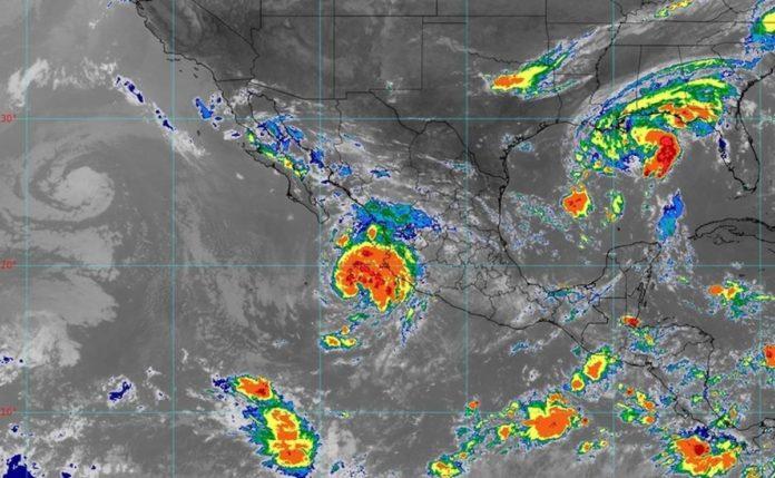 Olaf: se forma peligrosa tormenta cerca de las costa mexicanas y alertan por posibles inundaciones
