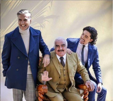 """""""El Potrillo"""" dijo en una entrevista que Vicente Fernández estaba feliz por la gira """"Hecho en México"""" que comenzaría Alejandro Fernández. (Foto Prensa Libre: Instagram @alexfernandez.g)."""