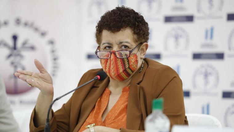 Amelia Flores, ministra de Salud. (Foto Prensa Libre: Hemeroteca PL)