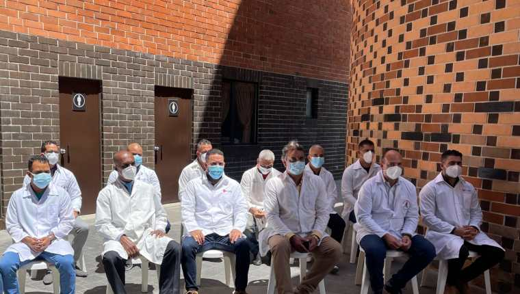 Los médicos que luchan contra el coronavirus en el Hospital Temporal del Parque de la Industria se hospedarán en la Casa Ronald McDonald. Foto Prensa Libre: Cortesía.