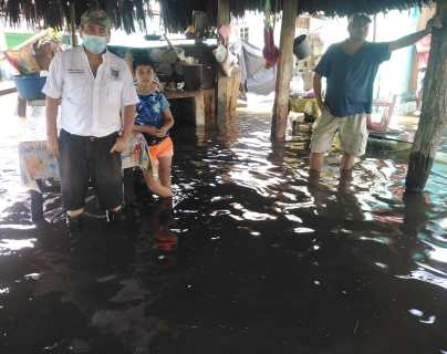 En imágenes: Lluvias de las últimas horas en Guatemala dejan 45 mil personas afectadas, una menor fallecida y cientos de evacuados
