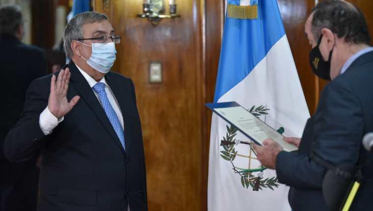 Francisco Coma es el tercer ministro de Salud del Gobierno de Alejandro Giammattei. Fotografía: Presidencia.