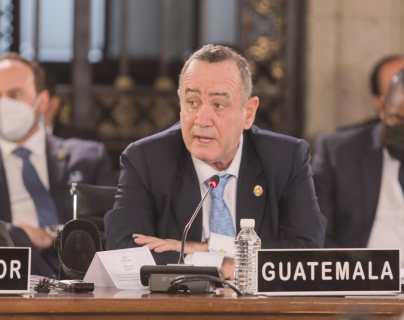 Giammattei expone en la Celac que Guatemala se encuentra lejos de alcanzar la nueva normalidad por la pandemia