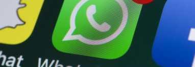 WhatsApp es una de las aplicaciones de mensajería instantánea más populares de la actualidad. (Foto Prensa Libre: Hemeroteca PL)