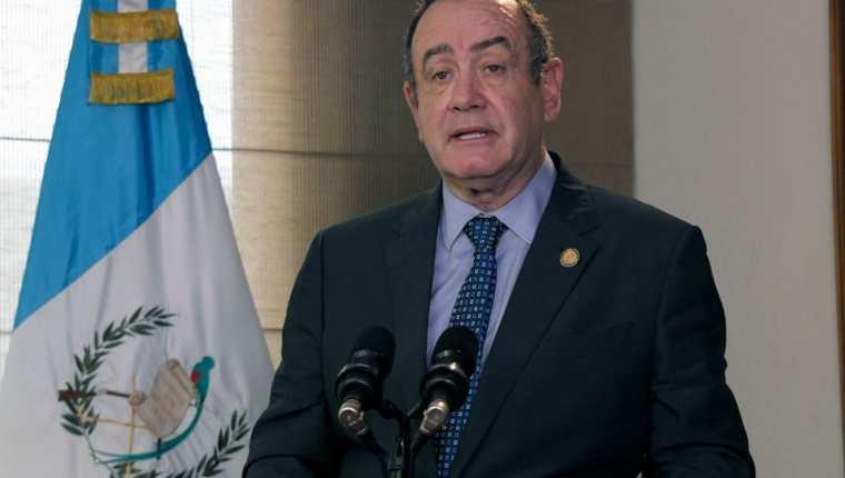 Mensaje del presidente Alejandro Giammattei en la Asamblea General de la ONU sobre el momento de los ODS. (Foto Prensa Libre: Presidencia de Guatemala)