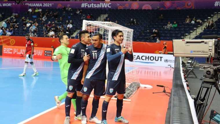 Guatemala cayó ante Egipto 5-3. Ahora lo dejan todo para la última fecha ante Rusia, el favorito del grupo B. Foto Fedefut.