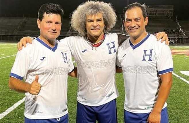 Alex Pineda Chacón, Carlos Valderrama y Carlos Ruiz. (Foto Prensa Libre: Instagram @cr20fish)