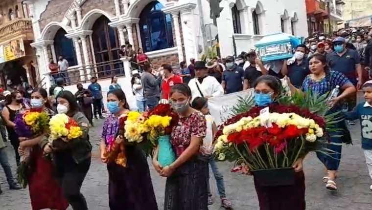 Santiago Atitlán está de luto tras el fallecimiento de Concepción Ramírez. (Foto Prensa Libre; captura de pantalla)