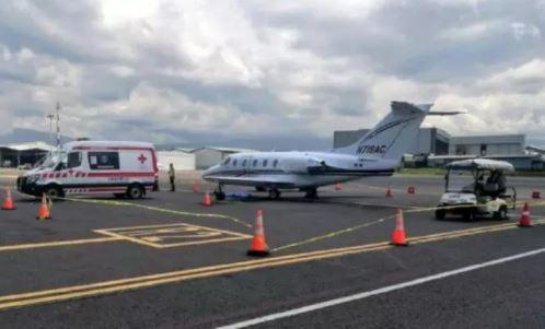 Piloto aviador que murió en Costa Rica fue identificado como Jose Vidal Campos, que salió ayer desde Guatemala en un vuelo privado registrado. (Foto Prensa Libre: Cortesía)