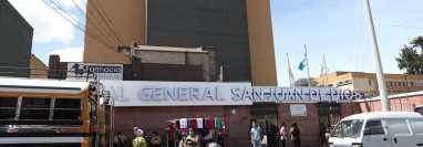 El Hospital General San Juan de Dios reporta una baja en los casos de coronavirus, pero la mortalidad se mantiene. (Foto Prensa Libre: María Reneé Barrientos).
