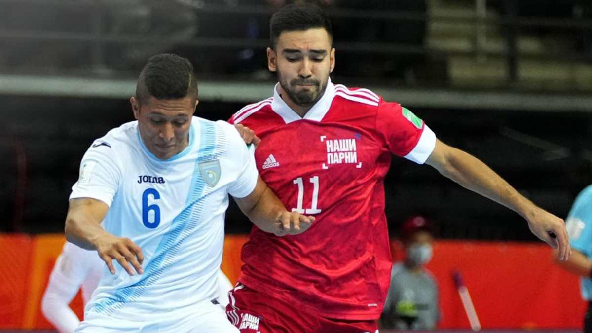 Guatemala cae goleada por Rusia y queda a la espera de meterse a octavos dentro de los mejores terceros en Lituania 2021