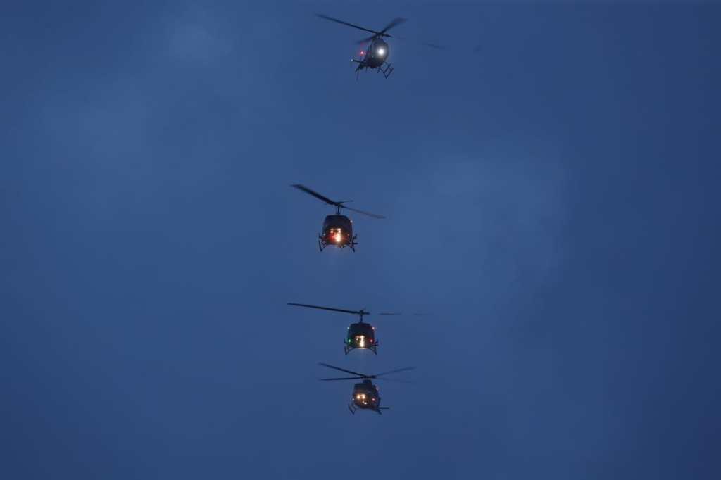 Helicópteros bicentenario