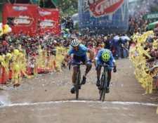 Mardoqueo Vázquez, campeón de la edición 60 de la Vuelta a Guatemala, celebrada en el 2020. (Foto Prensa Libre: Hemeroteca PL)