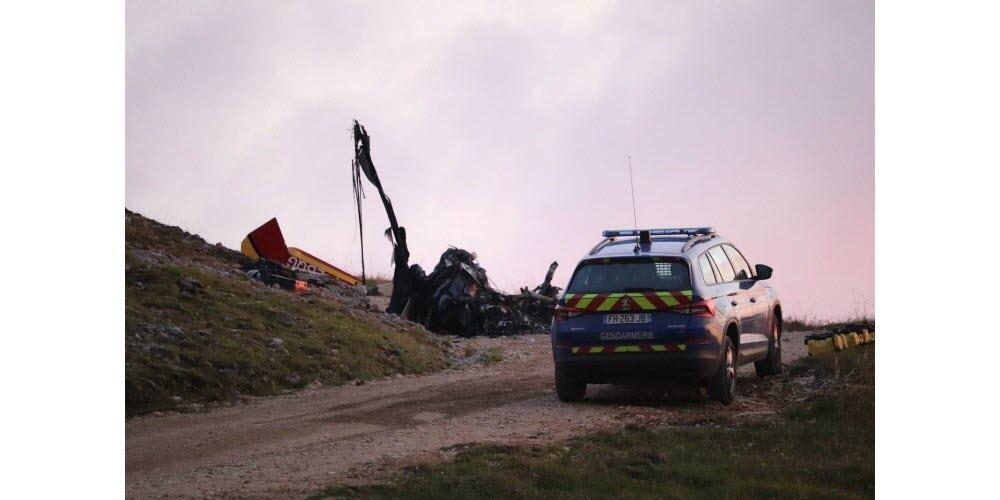 Francia: Un helicóptero de la seguridad civil se estrella al momento de hacer un rescate