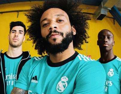 El Real Madrid presenta tercera equipación inspirada en Placa del Kilómetro Cero
