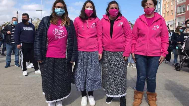Las activistas han salido a las calles este año para protestar por el trato a las mujeres.