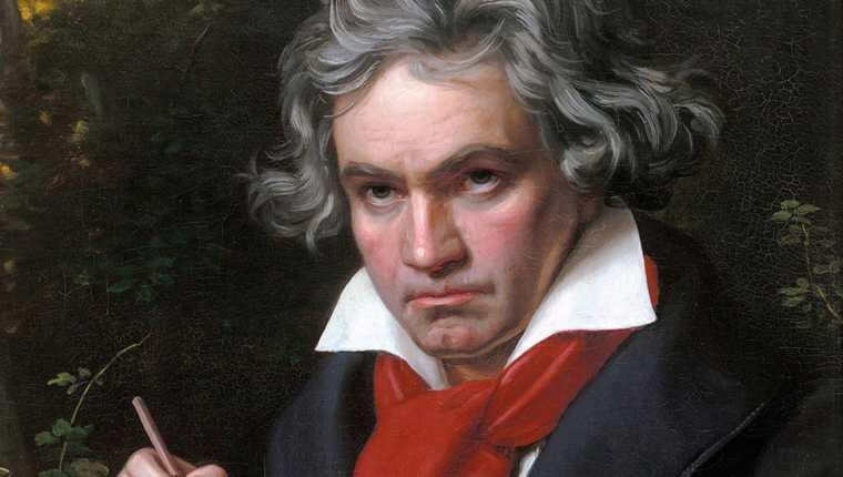 Beethoven murió sin completar la Décima Sinfonía.