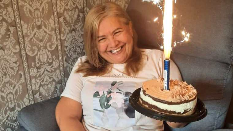 Martha Sepúlveda celebró en enero sus 51 años de vida.