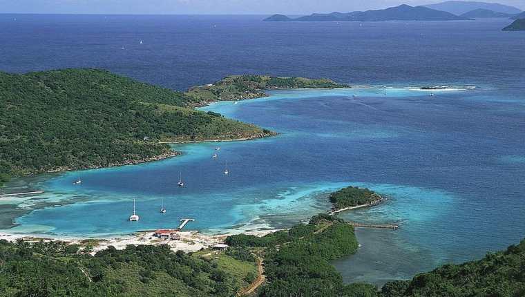 Las Islas Vírgenes Británicas son un paraíso natural y fiscal.