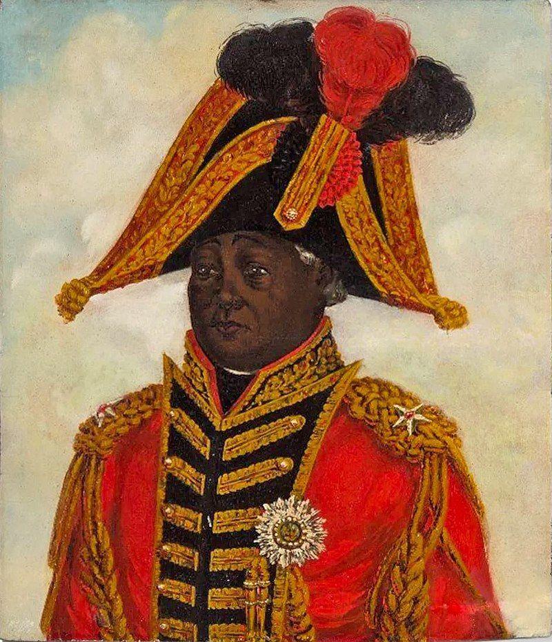 Henri Christophe se hizo llamar Enrique I y vestía trajes de gala y bicornio como la realeza europea.