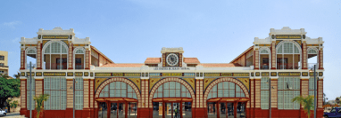 La estación de trenes de Dakar también está en la lista.