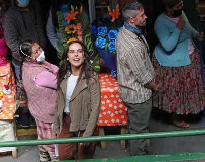 """La Reina del Sur 3: Kate del Castillo causa furor en Lima, donde la confunden con """"Verónika"""" Mendoza"""