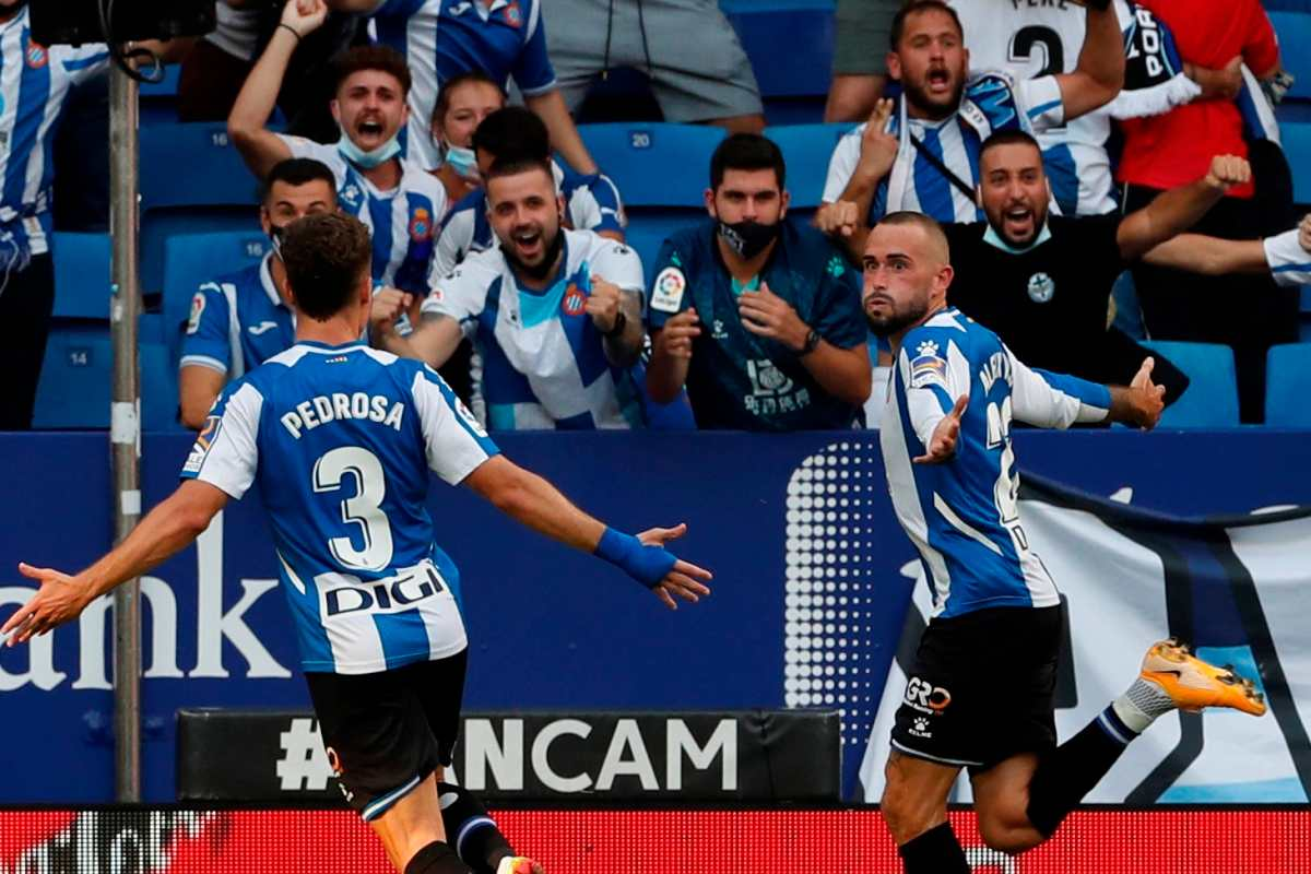 El Espanyol gana 2-1 y alarga la mala racha del Real Madrid