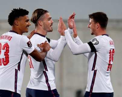 Inglaterra cumple goleando a Andorra