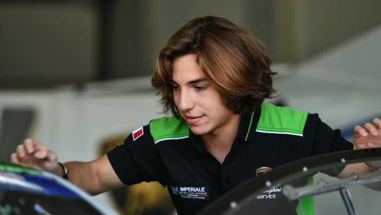El piloto guatemalteco, Mateo Llarena, competirá en Italia este sábado 9 y domingo 10 de octubre. Foto Prensa Libre: Cortesía
