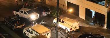 Escena del crimen en la zona 14, ciudad capital. (Foto Prensa Libre: Hemeroteca PL)