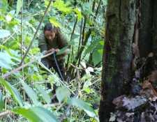 La Brigada de Rescate de los Bomberos Voluntarios con rápel rescataron a seis israelíes y dos guatemaltecos perdidos en el Volcán de Fuego. (Foto Prensa Libre: Fredy de León)